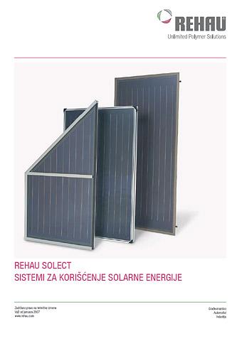 Solarni sistemi - REHAU