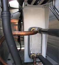 Pločasti razmenjivač toplote za pripremu sanitarne tople vode