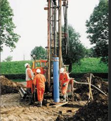 Postavljanje geotermalne sonde