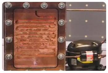 Unutrasnjost toplotne pumpe