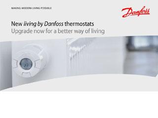 Danfoss living - Elektronska termostatska glava